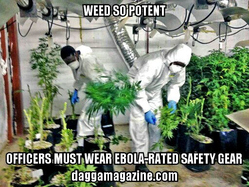 Weed So Potent - Hazmat Suits