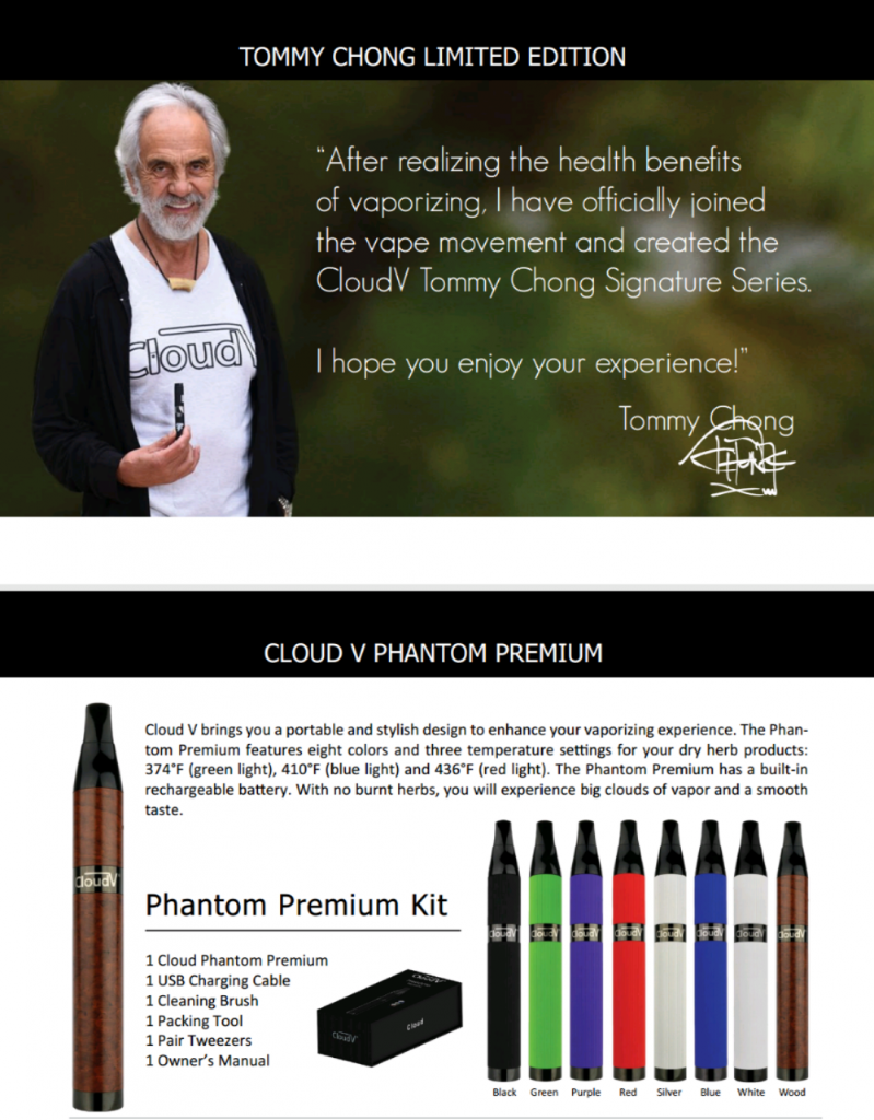 Tommy Chong - Cloud Vapes